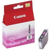 CANON Magenta Ink Cartridge [CLI8M] - Tinta Printer Canon